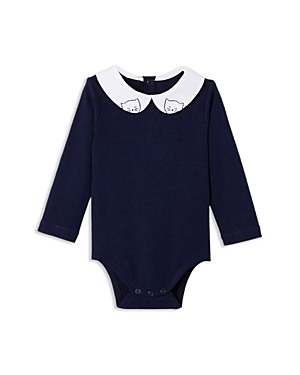 Jacadi Girls Embroidered Collar Bodysuit  Baby