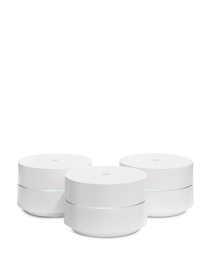 Google - WiFi Points with Power Adapters, 3-Pack