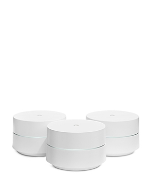 Google WiFi Points with Power Adapters, 3-Pack