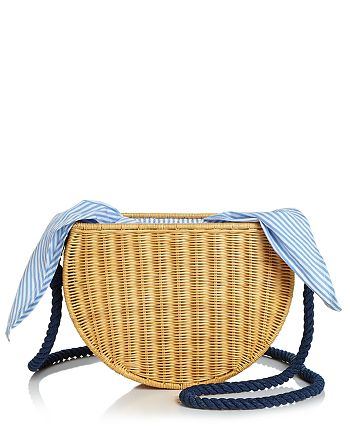 KAYU - Dylan Medium Straw Crossbody
