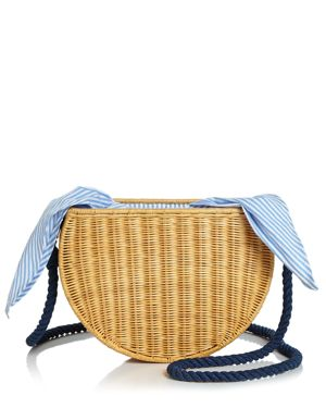 Kayu Dyland Medium Straw Crossbody