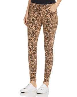 Parker Smith - Ava Skinny Jeans in Leopard