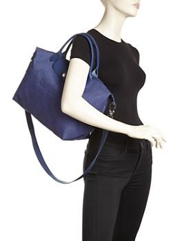 Longchamp - Le Pliage Jeans Medium Tote with Strap