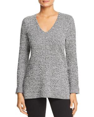 Nic+Zoe Petites Good Vibes Marled Sweater