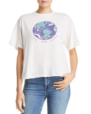 MICHELLE BY COMUNE Michelle By Comune Love Your Mother Tee in Off-White