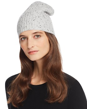 AQUA - Donegal Cashmere Hat - 100% Exclusive