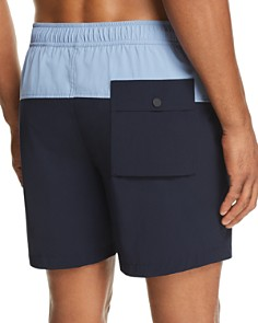 Theory - Cosmos B Simulate New Color-Block Swim Shorts
