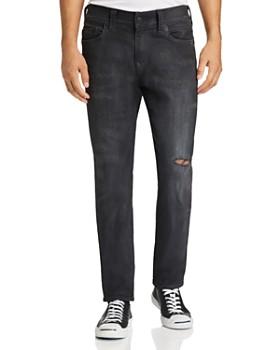 True Religion - Rocco Slim Fit Jeans in Dark Asteroid