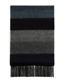 The Men's Store at Bloomingdale's - Block-Stripe Cashmere Scarf - 100% Exclusive