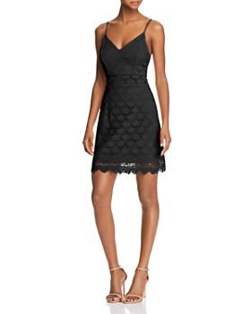 AQUA - Body-Con Lace Dress - 100% Exclusive ... 6a90fe69ead9