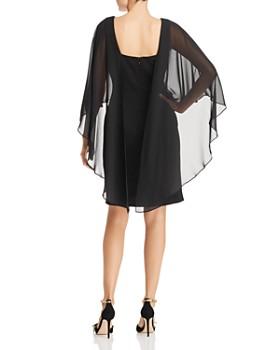Adrianna Papell - Chiffon Overlay Dress