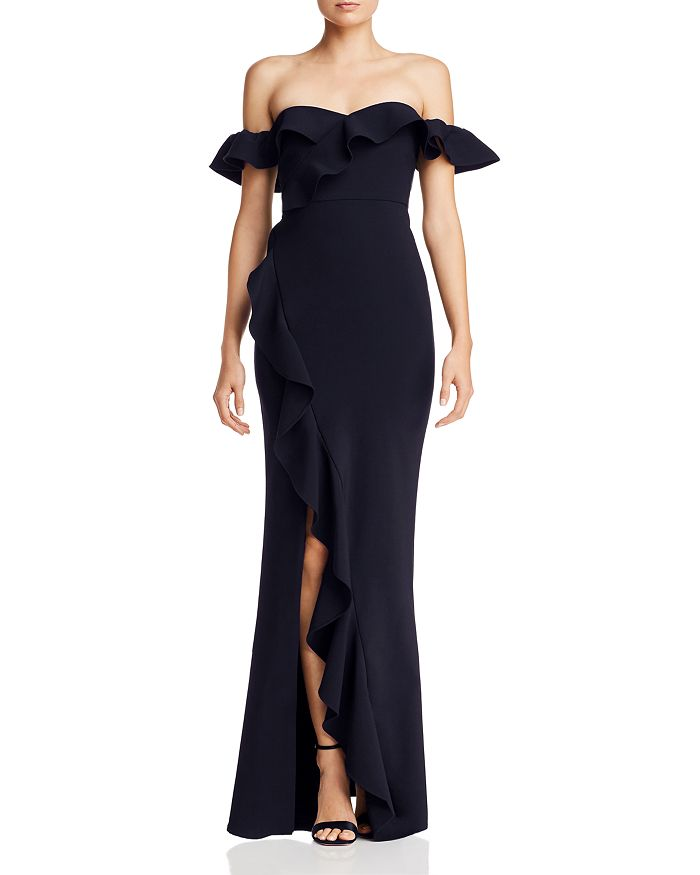 LIKELY - Miller Off-the-Shoulder Gown