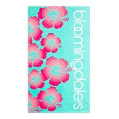 Bloomingdale's - Hibiscus Beach Towel - 100% Exclusive