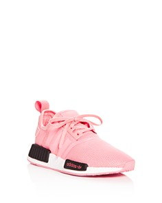 Adidas - Girls' NMD R1 Knit Lace-Up Sneakers - Big Kid