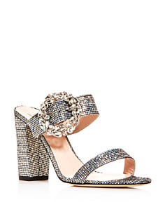 SJP by Sarah Jessica Parker - Women's Celia High Block-Heel Slide Sandals