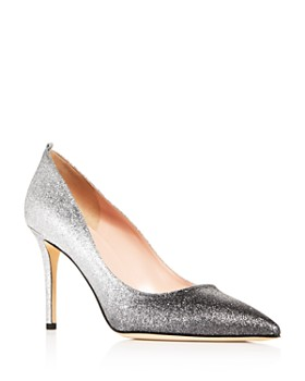 07888d6b001a SJP by Sarah Jessica Parker - Women s Fawn Glitter Pointed-Toe Pumps ...
