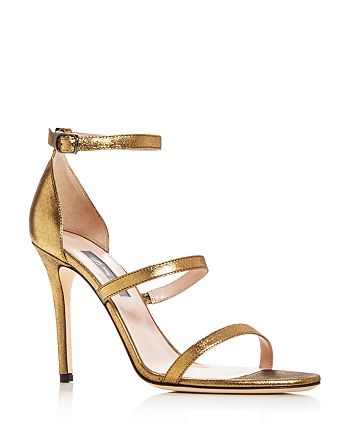 c2092a5c4d8 SJP by Sarah Jessica Parker Women's Halo Strappy High-Heel Sandals ...