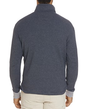 Robert Graham - Kitson Striped Quarter-Zip Sweater
