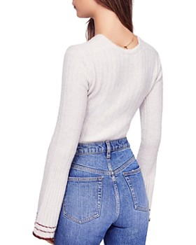 Free People - May Morning Bell-Sleeve Sweater