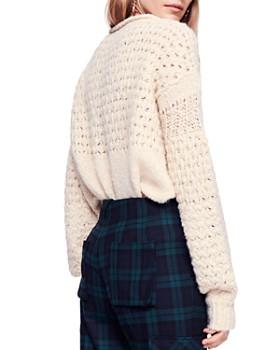 5cca03236b6f ... Free People - Crashing Waves V-Neck Sweater