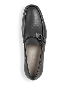 Salvatore Ferragamo - Men's Adammoon Leather Moc-Toe Loafers