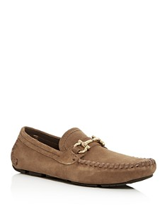 Salvatore Ferragamo - Men's Parigi Suede Moc-Toe Drivers