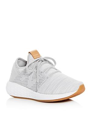 17ab5dffe2 New Balance Women S Cruz Fresh Foam Knit Low-Top Sneakers In Rain Cloud