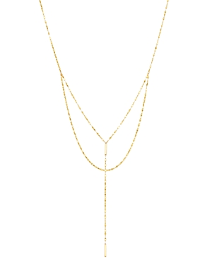 Moon & Meadow Layered Y Necklace in 14K Yellow Gold, 18 - 100% Exclusive