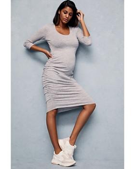 Ingrid & Isabel - Maternity Shirred Dress