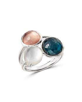 IPPOLITA - Sterling Silver Wonderland Mother-of-Pearl Doublet Ring