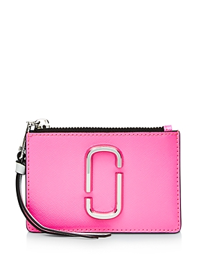 Marc Jacobs Wallets TOP ZIP LEATHER MULTI CARD CASE
