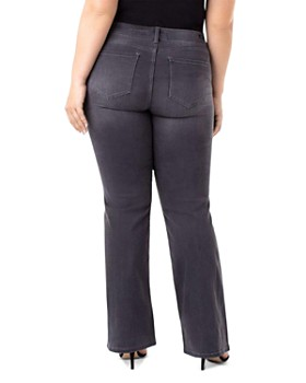 Liverpool Plus - Lucy Bootcut Jeans in Meteorite Wash