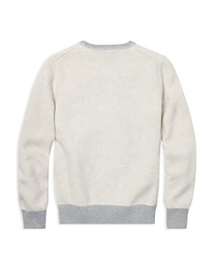 Ralph Lauren - Boys' Cotton Mesh Sweater - Big Kid