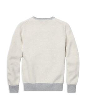 Ralph Lauren - Boys' Cotton Mesh Sweater - Big Kid