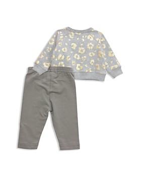 Sovereign Code - Girls' Metallic Leopard-Print Sweatshirt & Leggings Set - Baby