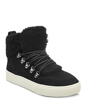 ... BAG. Marc Fisher LTD. - Women s Sana Faux-Shearling High-Top Sneakers  ... 762e67c366f2d