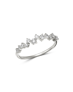 Bloomingdale's Diamond Scatter Band in 14K White Gold, 0.35 ct. t.w. - 100% Exclusive