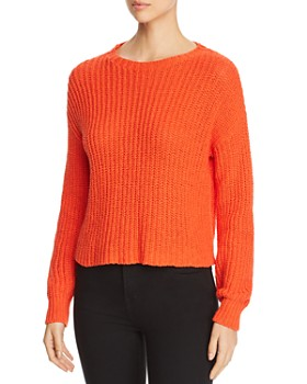 Eileen Fisher Petites - Cropped Shaker Stitch Sweater