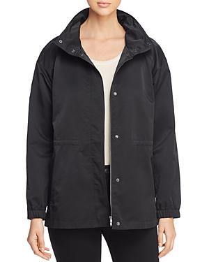 Eileen Fisher Stand-Collar Jacket