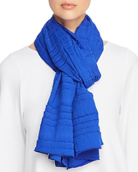 Eileen Fisher - Mini Pleated Scarf