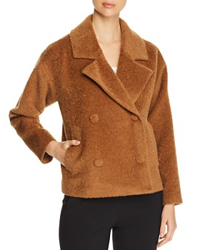 Eileen Fisher - Textured Double-Breasted Jacket