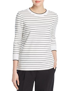 Lafayette 148 New York - Delma Striped Top