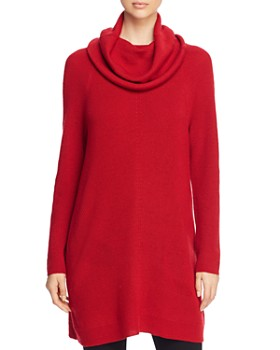 Eileen Fisher - Merino-Wool Cowl-Neck Sweater Tunic - 100% Exclusive