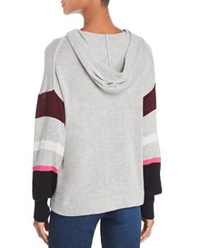 Splendid - Color-Block Hooded Sweater - 100% Exclusive