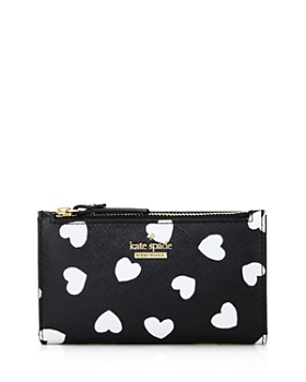584a8ecefe48 kate spade new york - Cameron Street Hearts Mikey Leather Wallet ...
