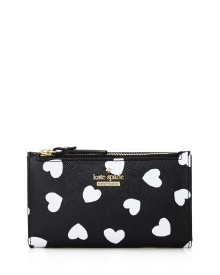 Cameron Street Hearts Mikey Leather Wallet by Kate Spade New York