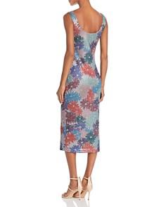 Splendid - x Margherita Brillare Metallic Floral Print Tank Dress