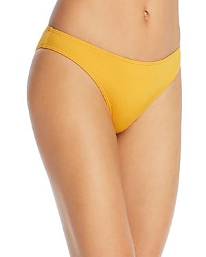 Audrey Low-Rise Triangle Bikini Bottom
