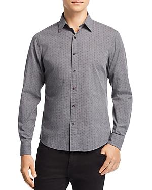 Michael Kors Dice Dot-Print Slim Fit Shirt