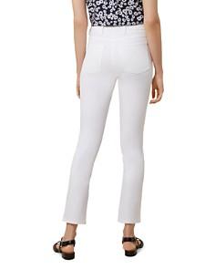 HOBBS LONDON - Amanda Ankle Straight-Leg Jeans in White